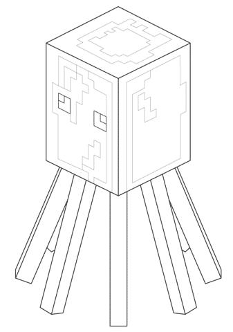desenhos do minecraft para colorir e imprimir