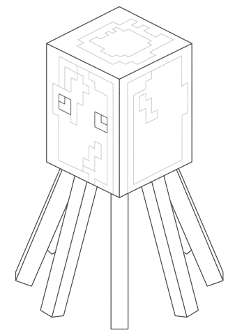 Kleurplaten Minecraft Creeper.Minecraft Kleurplaten Creeper Dibujos Para Pintar Para Nios