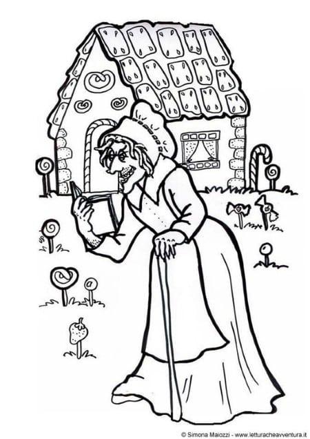 personagens da história infantil joão e maria