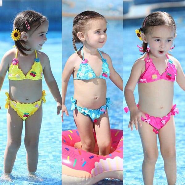 moda infantil biquinis