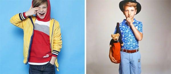 moda infantil cores