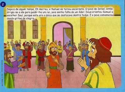 história bíblica com moral