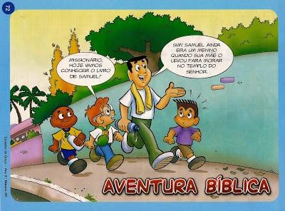 história bíblica infantil e atividades