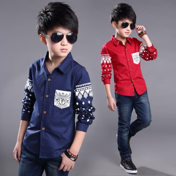 moda infantil camisa