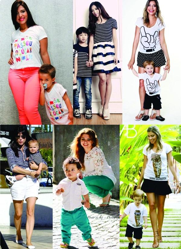 moda infantil maes e filhas