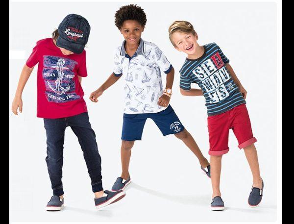 moda infantil meninos