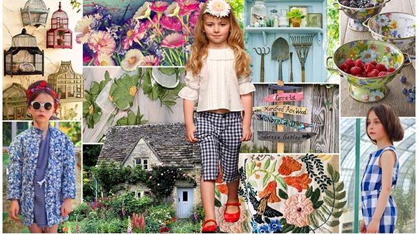 moda infantil flores