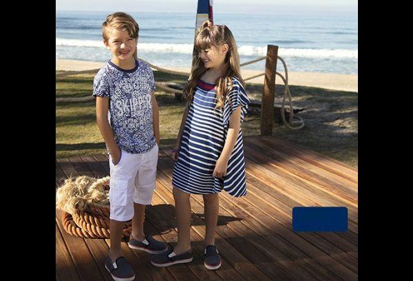 moda infantil navy