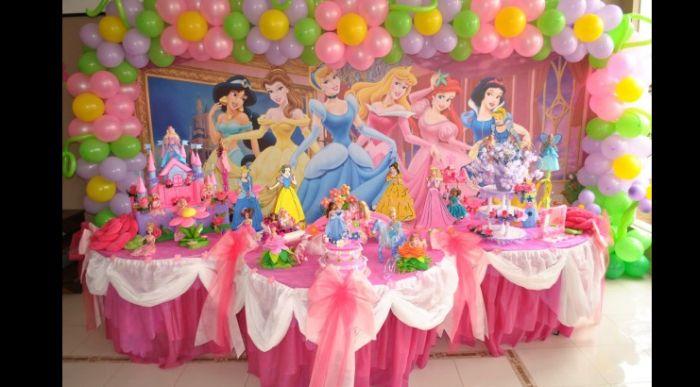 tema infantil princesas