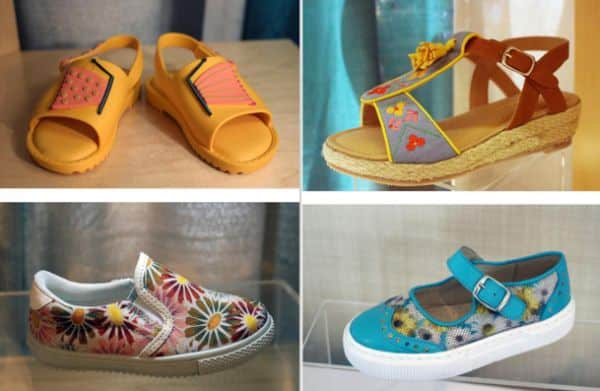moda infantil sapatos