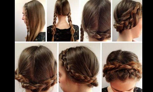 penteado com trança infantil tutorial