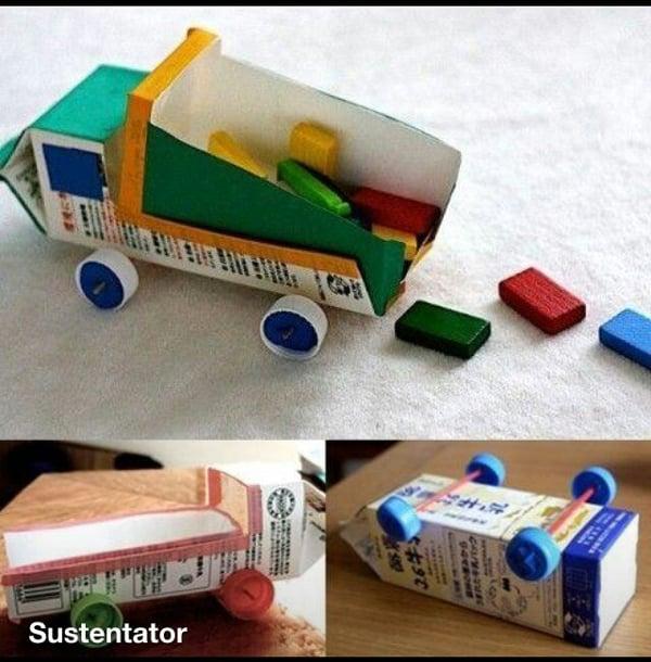 brinquedo pedagogico caminhoes