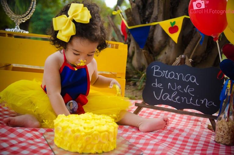 Smash the cake branca