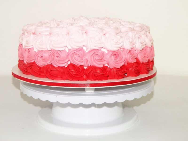 bolo para batizado menina