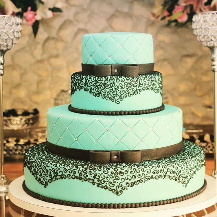 bolo azul tifany
