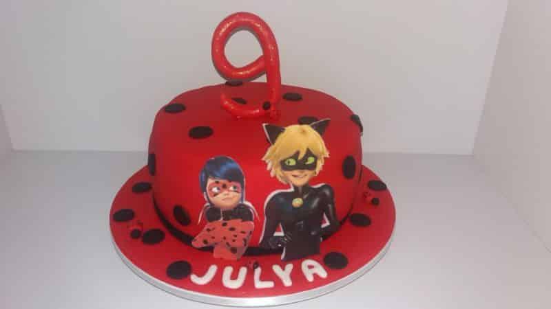 bolo ladybug comum