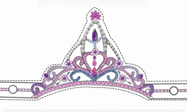 Molde De Coroa Para Imprimir Principe Princesa Rei Coroinha