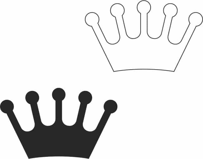 coroa pequena