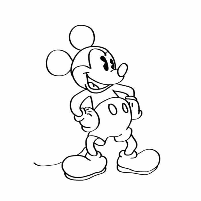 Imagens Do Mickey Mouse E Minnie Desenhos Para Colorir E