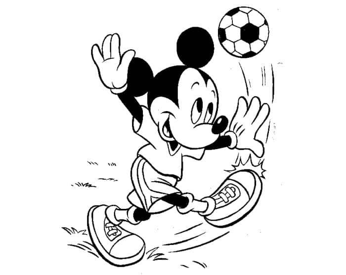 Imagens Do Mickey Mouse E Minnie: Desenhos Para Colorir E