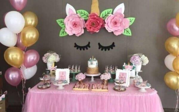 festa infantil unicornio