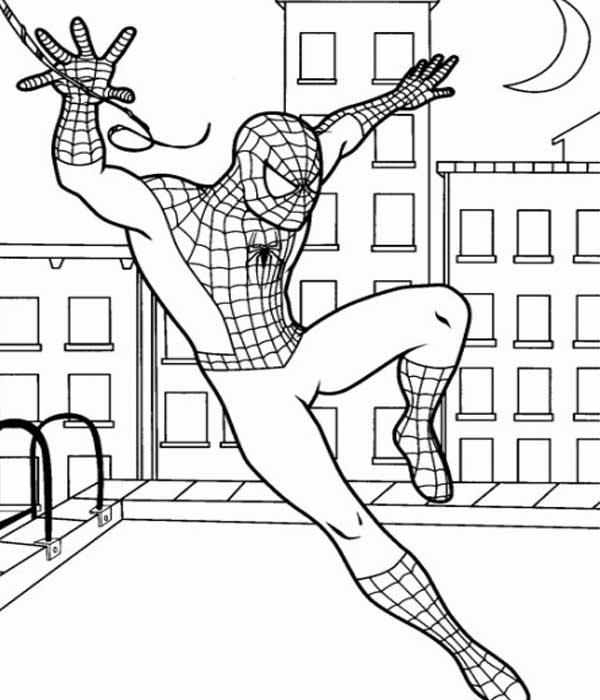 Desenhos para pintar Homem Aranha