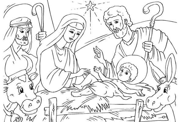 Desenhos para pintar Natal