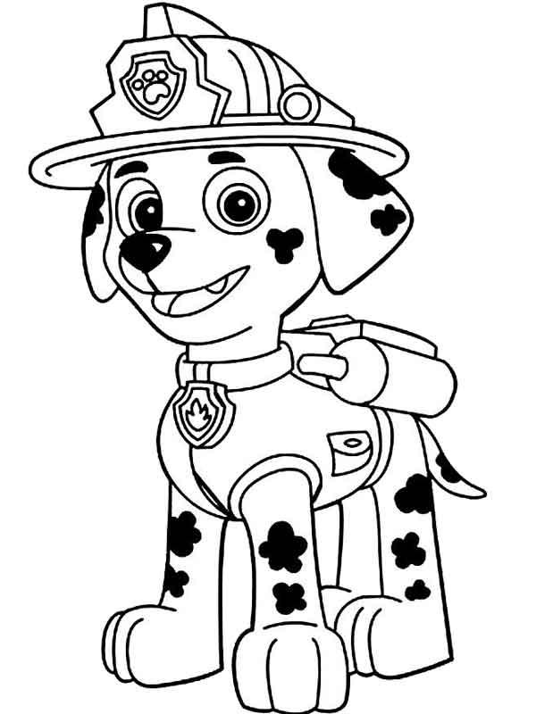 Desenhos para colorir Patrulha Canina