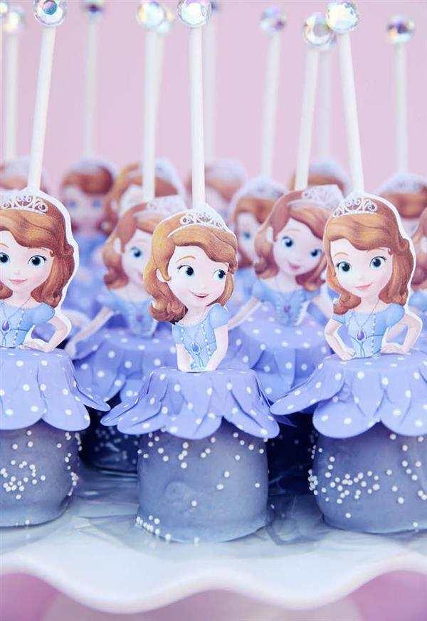 docinhos decorados princesa sofia
