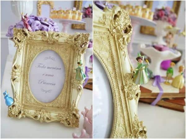 decoração princesa sofia enfeites