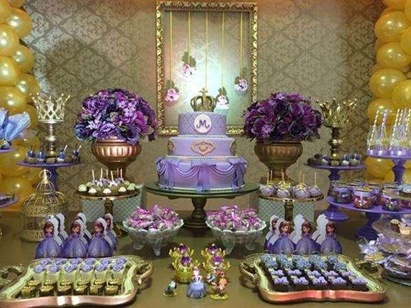 decoração de luxo da princesa sofia