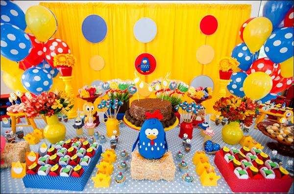 decorar festa galinha pintadinha