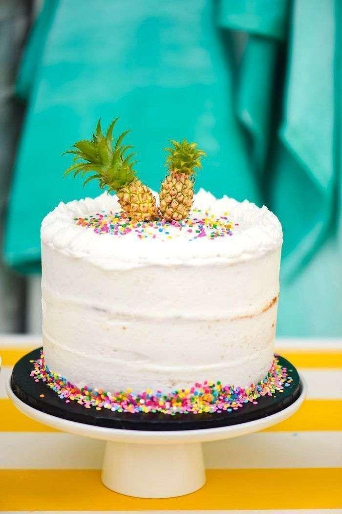 Festa Tropical  Decora U00e7 U00e3o  Bolo  Lembrancinhas
