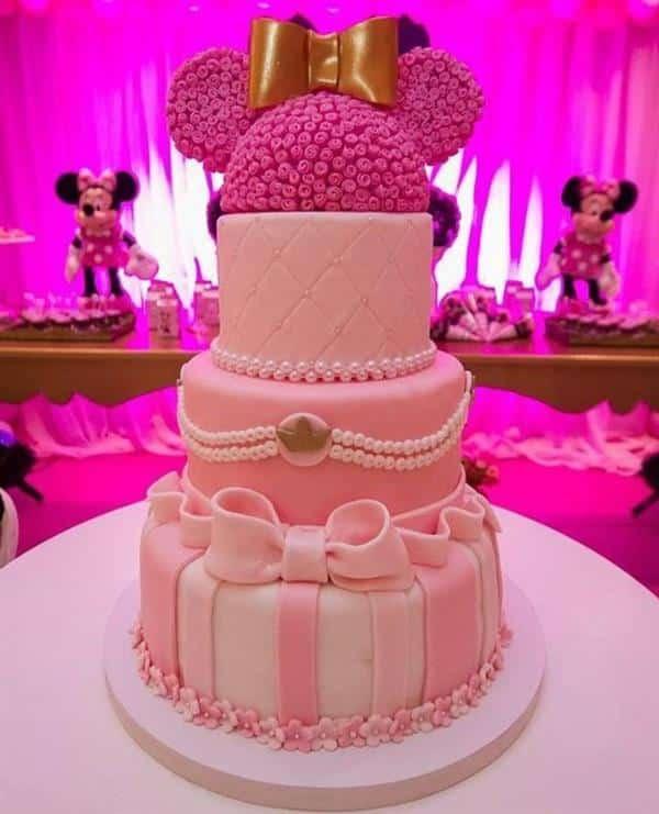 bolo de aniversario luxo