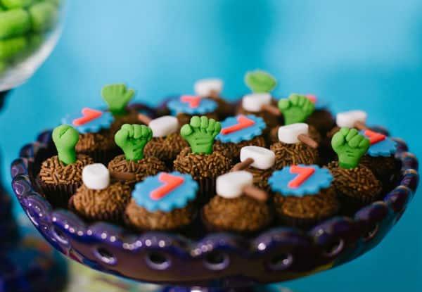 doces de festa infantil