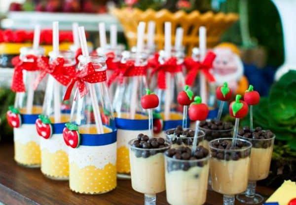 mesa de doces de festa infantil