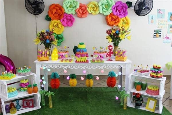 festa tema tropical