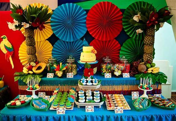 festa tropical masculina