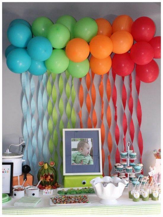 decoração com balões simples