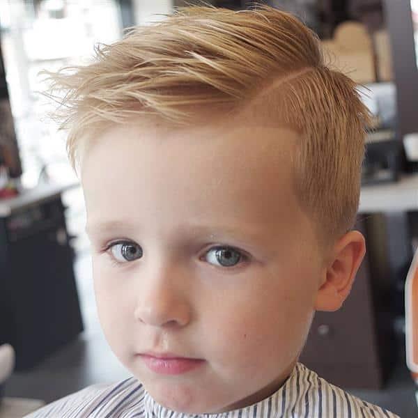 corte de cabelo infantil social