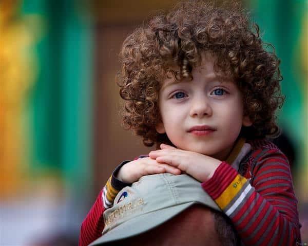 cabelo masculino cacheado infantil