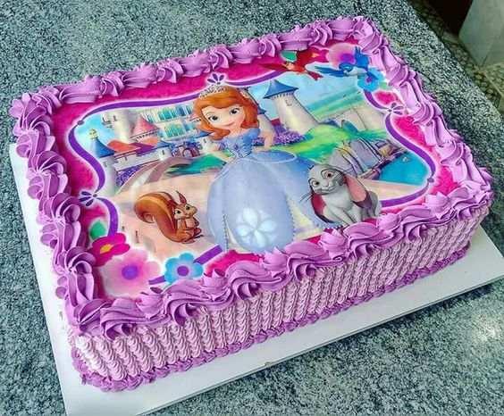 bolo da princesa sofia 1 ano