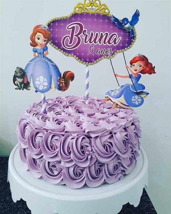 bolo da princesa sofia 1 andar