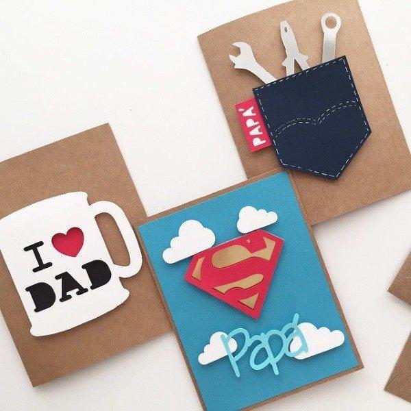 cartão dia dos pais personalizado
