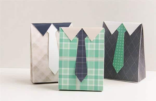lembrancinha dia dos pais com papel