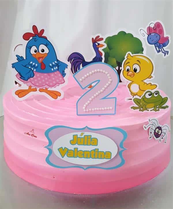 bolo de mesversario