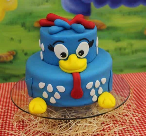 bolo azul 2 andares