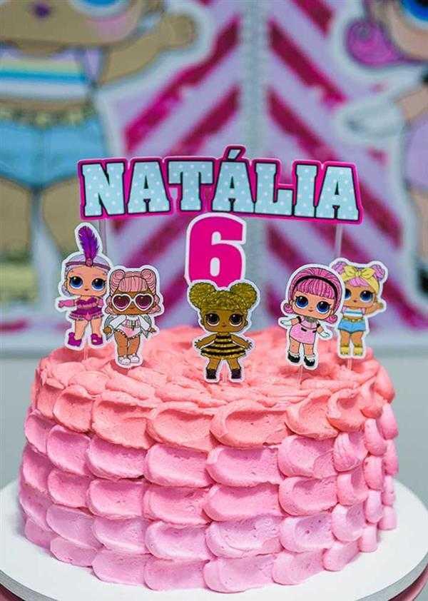 bolo festa lol