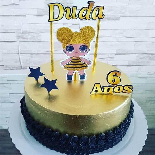 bolo dourado