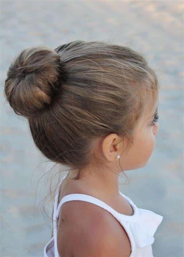 tipos de penteados infantis
